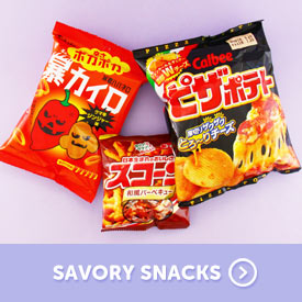 Savory Japanese Snacks