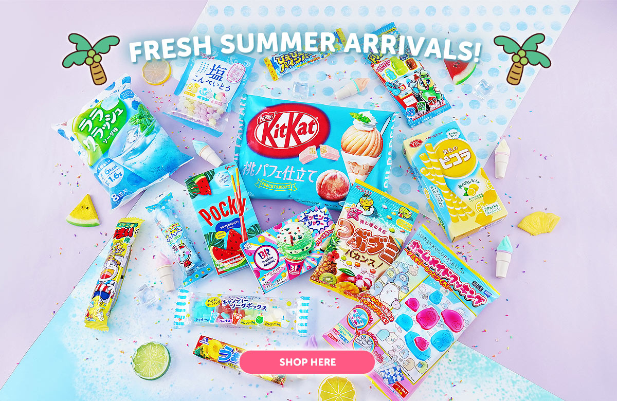 Japanese Summer Candy & Snacks
