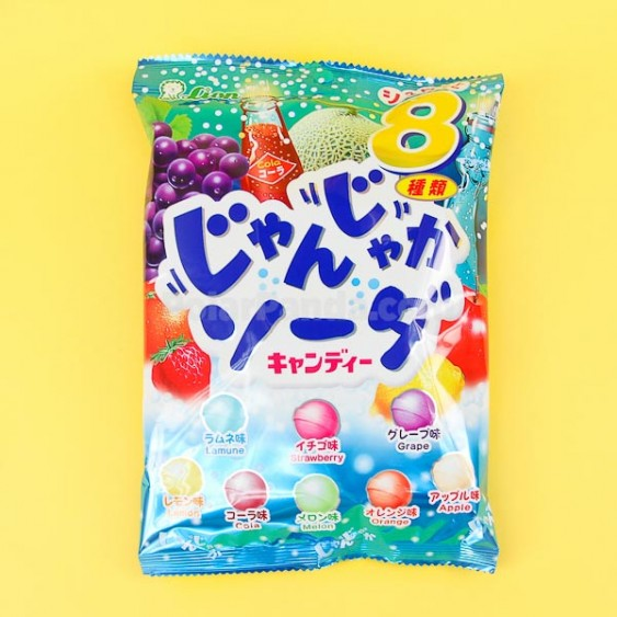 Lion Jyanjyaka Soda Candy