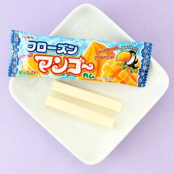 Marukawa Frozen Mango Bubble Gum - 2 pcs