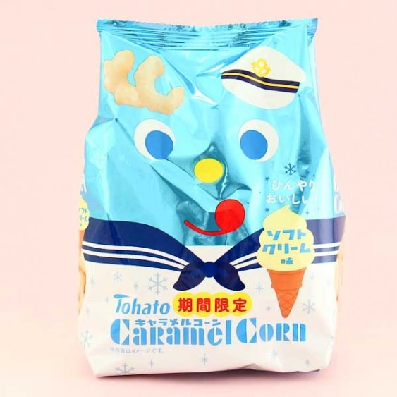 Tohato Caramel Corn - Soft Ice Cream
