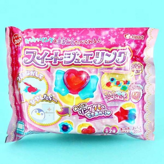 Heart Sweet Jewelry Ring DIY Candy Set