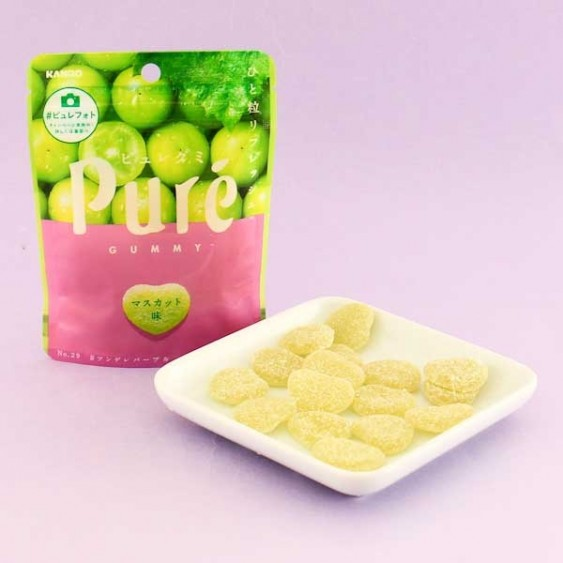 Kanro Pure Muscat Grape Gummies