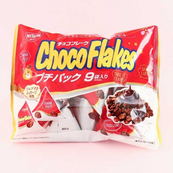 Nissin Choco Flakes Family Pack - 9 pcs