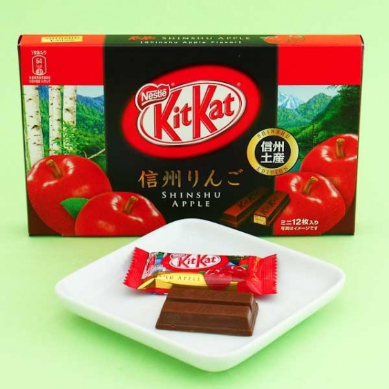 Kit Kat Shinshu Apple Chocolate