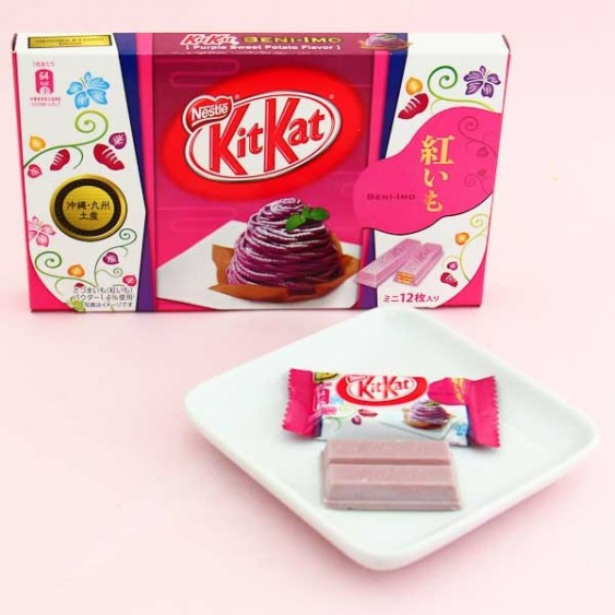 Kit Kat Sweet Purple Potato Chocolate