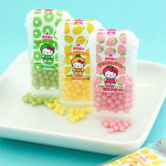 Orion Hello Kitty Tropical Mint Candy Set - 3 pcs