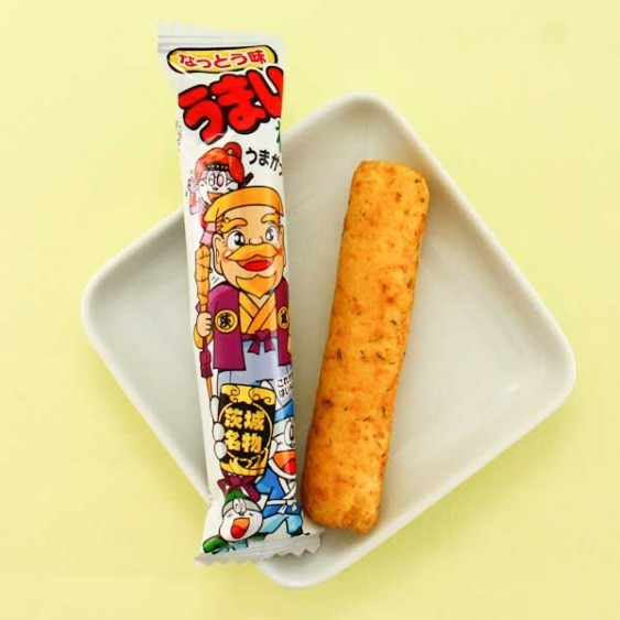 Yaokin Umaibo Natto Snack Stick Set - 5 pcs