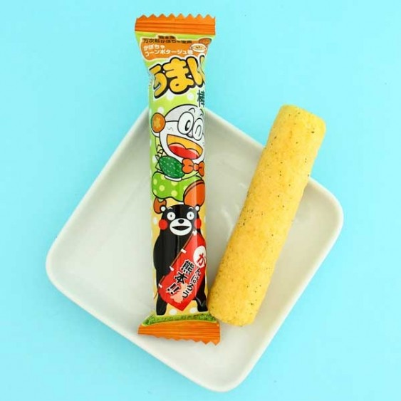 Yaokin Umaibo Kumamon Pumpkin and Corn Potage Stick Set - 5 pieces