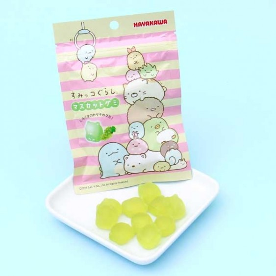 Hayakawa Sumikko Gurashi Gummy Candies - Grape