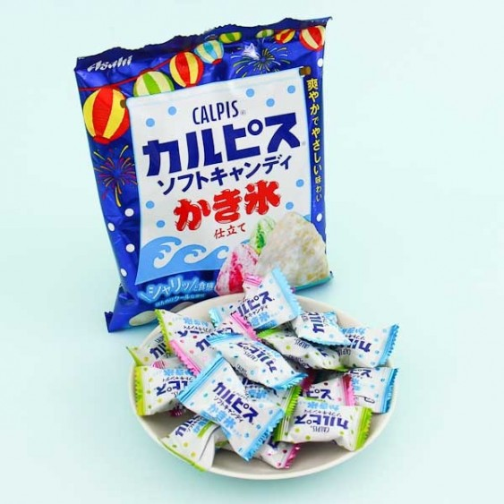 Asahi Calpis Shaved Ice Soft Candies