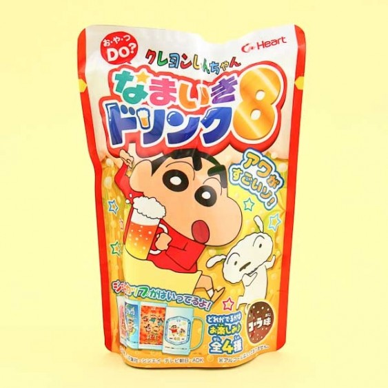 Heart Crayon Shin-chan Namaiki Drink DIY Kit 8