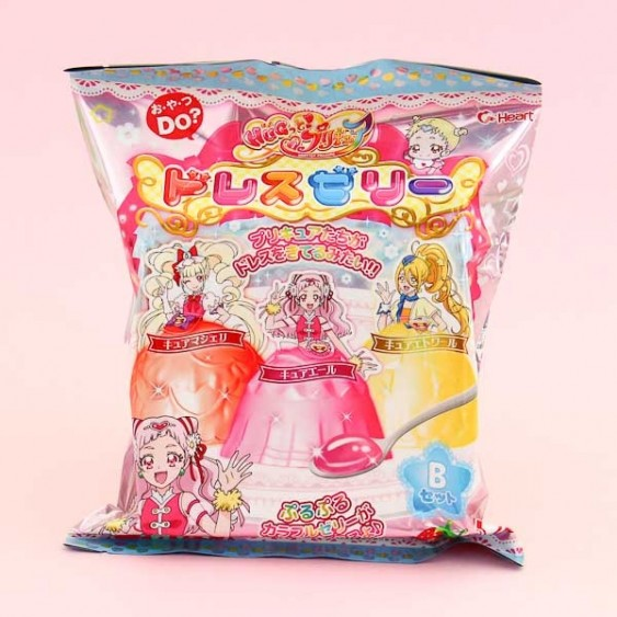 Heart KiraKira Pretty Cure Jelly Dress DIY Candy Kit