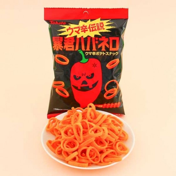 Tohato Tyrant Habanero Chili Flavor Potato Rings