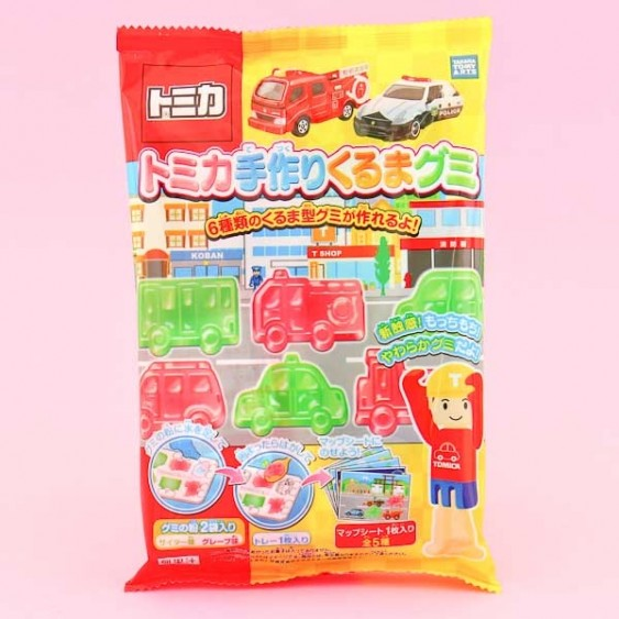 Takara Tomica 6 Gummy Car DIY Candy Kit