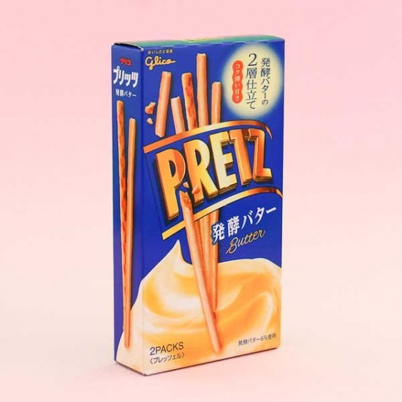 Glico Pretz Biscuit Sticks - Butter
