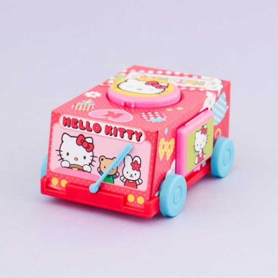 Ulido Sanrio Hello Kitty Toy Car & Candies