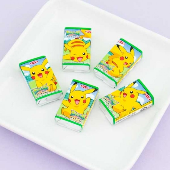 Top Pokemon & Pikachu Gum Set - 5pcs