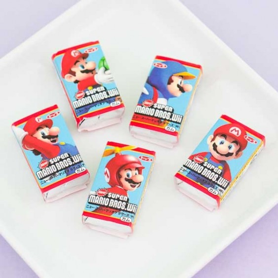 Top Super Mario Wii Gum Set - 5 pcs