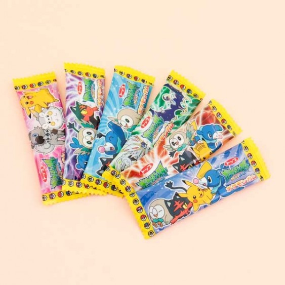 Top Pokemon Bubble Gum Set - 5 pcs