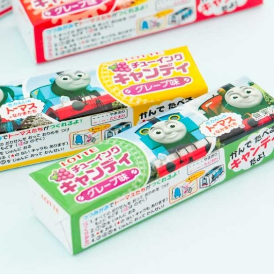 Lotte Thomas & Friends Chewy Candies - Grape