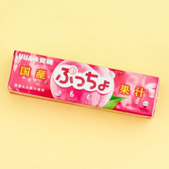 Puccho Chewy Candy - Japanese Peach Juice