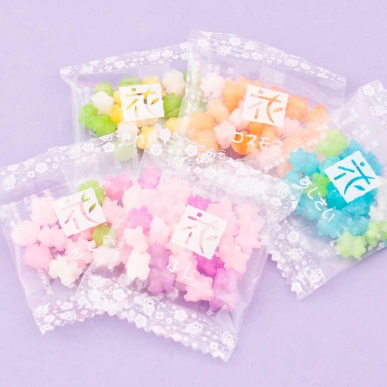 Colorful Konpeito Candy Set