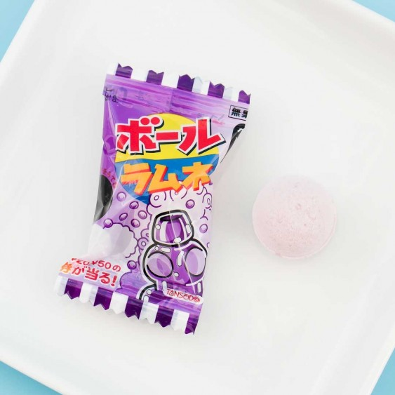 Fizzy Grape Ramune Balls - 5pcs