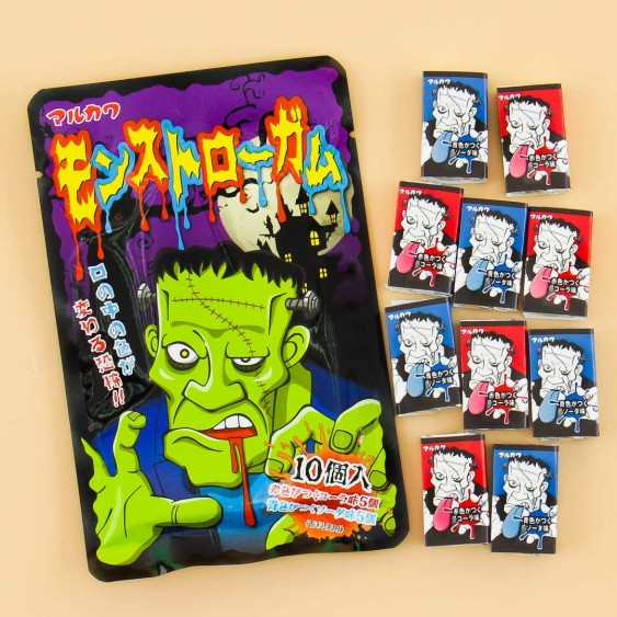 Monstro Frankenstein Gum Set