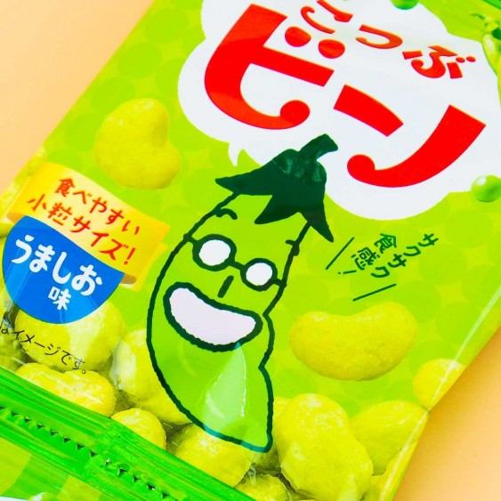 Tohato Mini Bino Lightly Salted Pea Snacks - 4 pcs