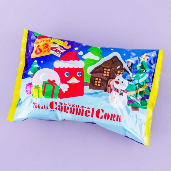 Tohato Caramel Corn Christmas Multi-Pack - 6 pcs