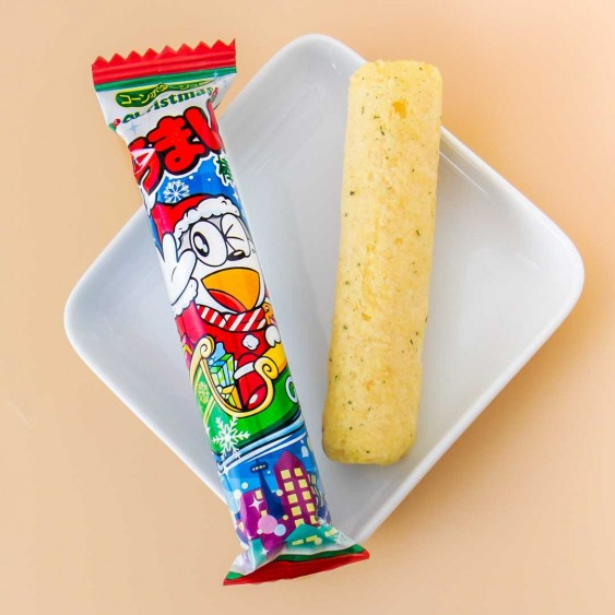 Yaokin Umaibo Christmas Corn Potage Snack Stick Set - 5 pcs
