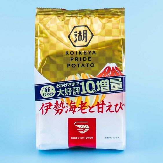 Koikeya Pride Potato Chips - Ise Sweet Shrimp