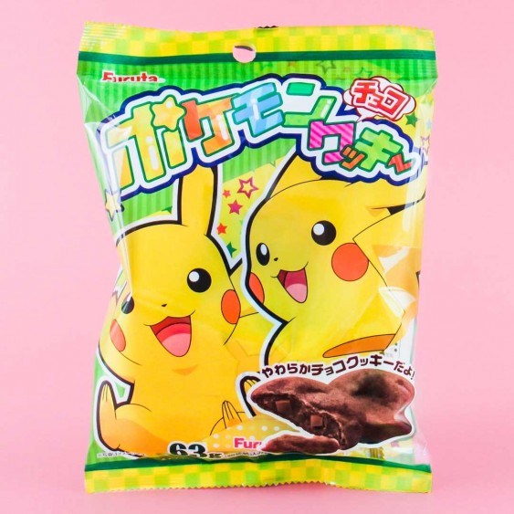 Furuta Pokemon Sun & Moon Chocolate Cookies