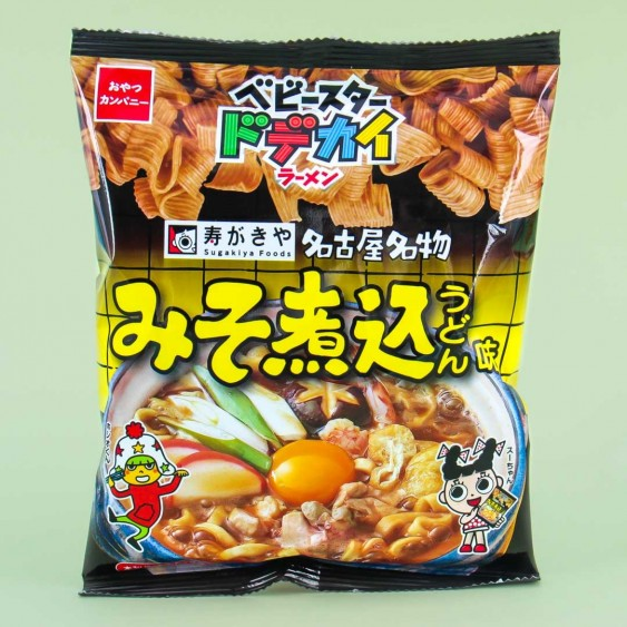 Baby Star Miso Stewed Udon Noodle Snacks