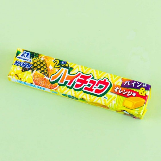 Hi-Chew Candies - Pineapple & Orange