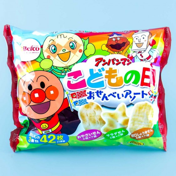Anpanman Bakauke Rice Crackers - Assorted
