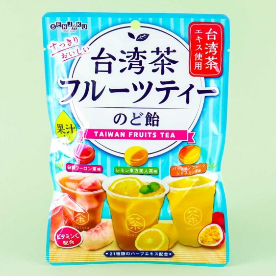 Senjaku Throat Candies - Taiwanese Fruit Tea Mix