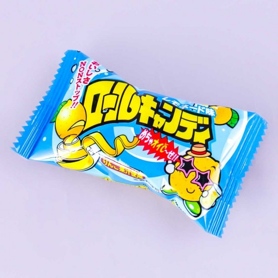 Yaokin Lemonade Roll Candy