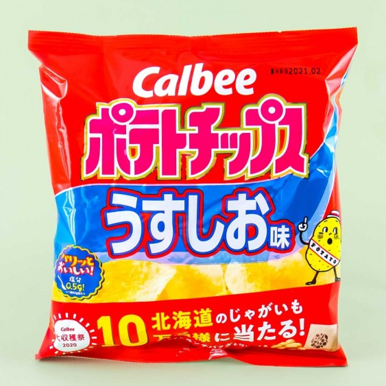 Calbee Potato Chips - Lightly Salted