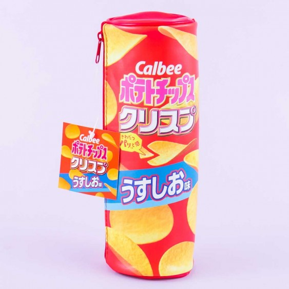 Calbee Lightly Salted Potato Chips Pencil Case
