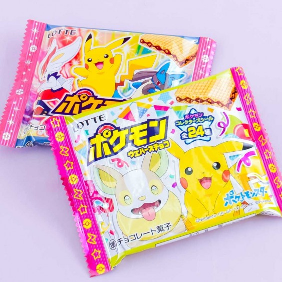 Lotte Pokémon Wafer Chocolate With Cookie Crunch