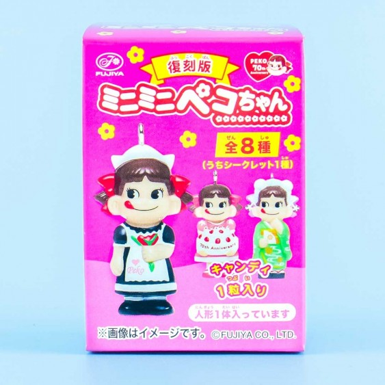 Milky Peko-Chan Figure With Candy