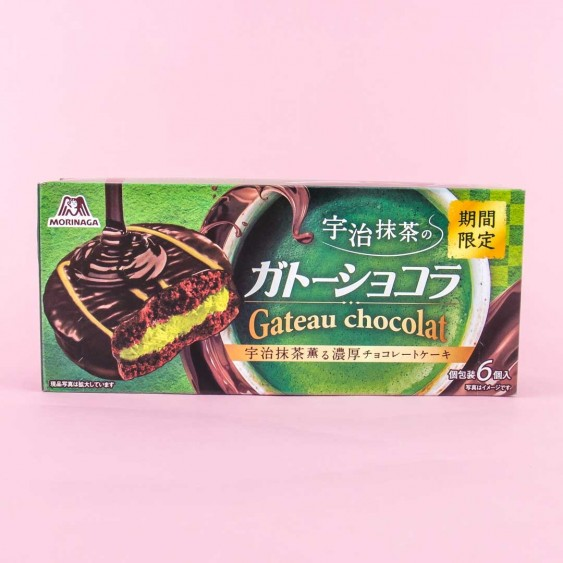 Morinaga Gateau Chocolate Cake Snacks - Uji Matcha