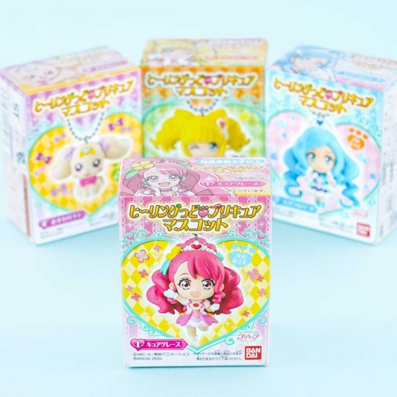 Healin' Good Precure Character Charm With Gum