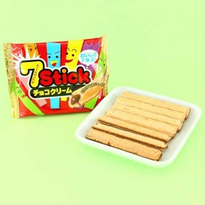 Yaokin 7 Stick Chocolate Cream Cookie Sticks