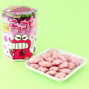 Tohato Crayon Shin-chan Grape Biscuits