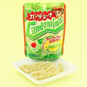 Kanro Candemina Sour Candies - Melon Soda