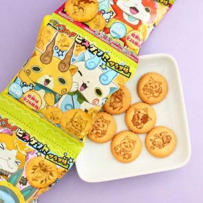 Tohato Yokai Watch Salad Biscuit Set - 4 pcs