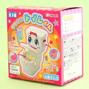 Heart Uranai Moko Moko Toilet-kun Candy Toy
